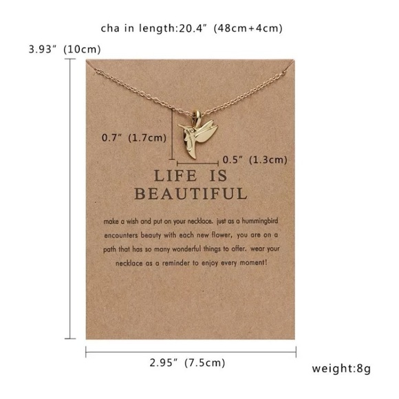 52f063040 Jewelry | Life Is Beautiful Positivity Necklace | Poshmark